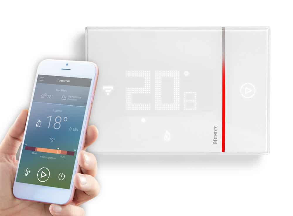 Smarther: il termostato connesso con wi-fi integrato - EG ZeroUno