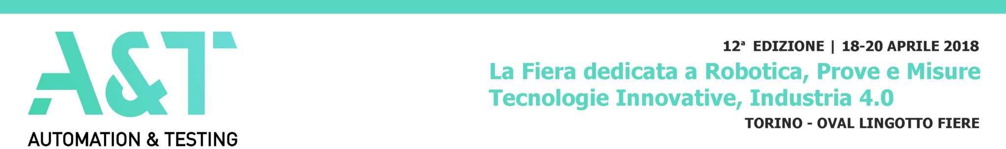 La Fiera dell'Automazione Robotica   Elettrogruppo ZeroUno   Torino   LOGO AUTOMATIC TESTING