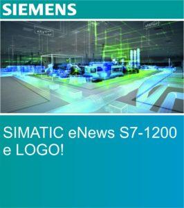 SIMATIC eNews S7-1200 e LOGO! | Elettrogruppo ZeroUno | Torino | S7 - 1200 SIEMENS