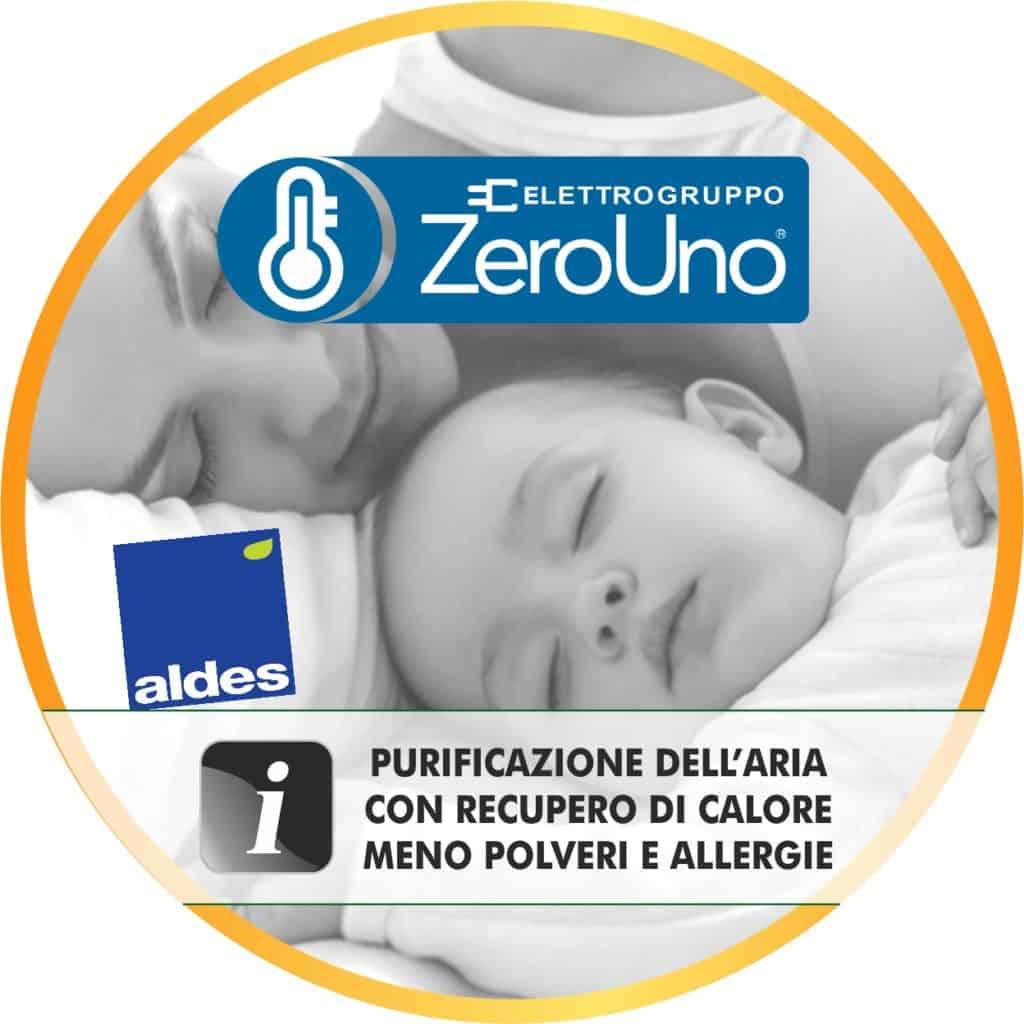Qualità dell'Aria ALDES | Elettrogruppo ZeroUno | Torino | immagine principale