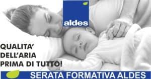 Qualità dell'Aria ALDES | Elettrogruppo ZeroUno | Torino | serata formativa aldes