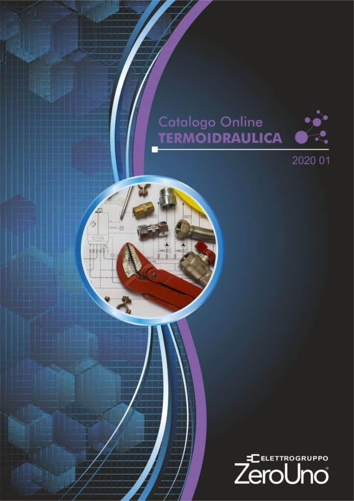 Cataloghi | Elettrogruppo ZeroUno | Beinasco | Torino | TO | COPERTINA CATALOGO TERMOIDRAULICA