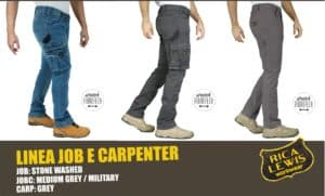 RICA LEWIS WORKWEAR LINEA JOB E CARPENTER