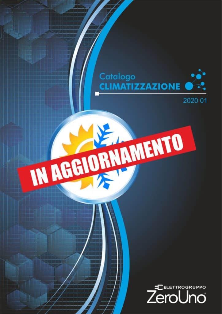 Cataloghi | Elettrogruppo ZeroUno | Beinasco | Torino | TO | COPERTINA CATALOGO CLIMATIZZAZIONE