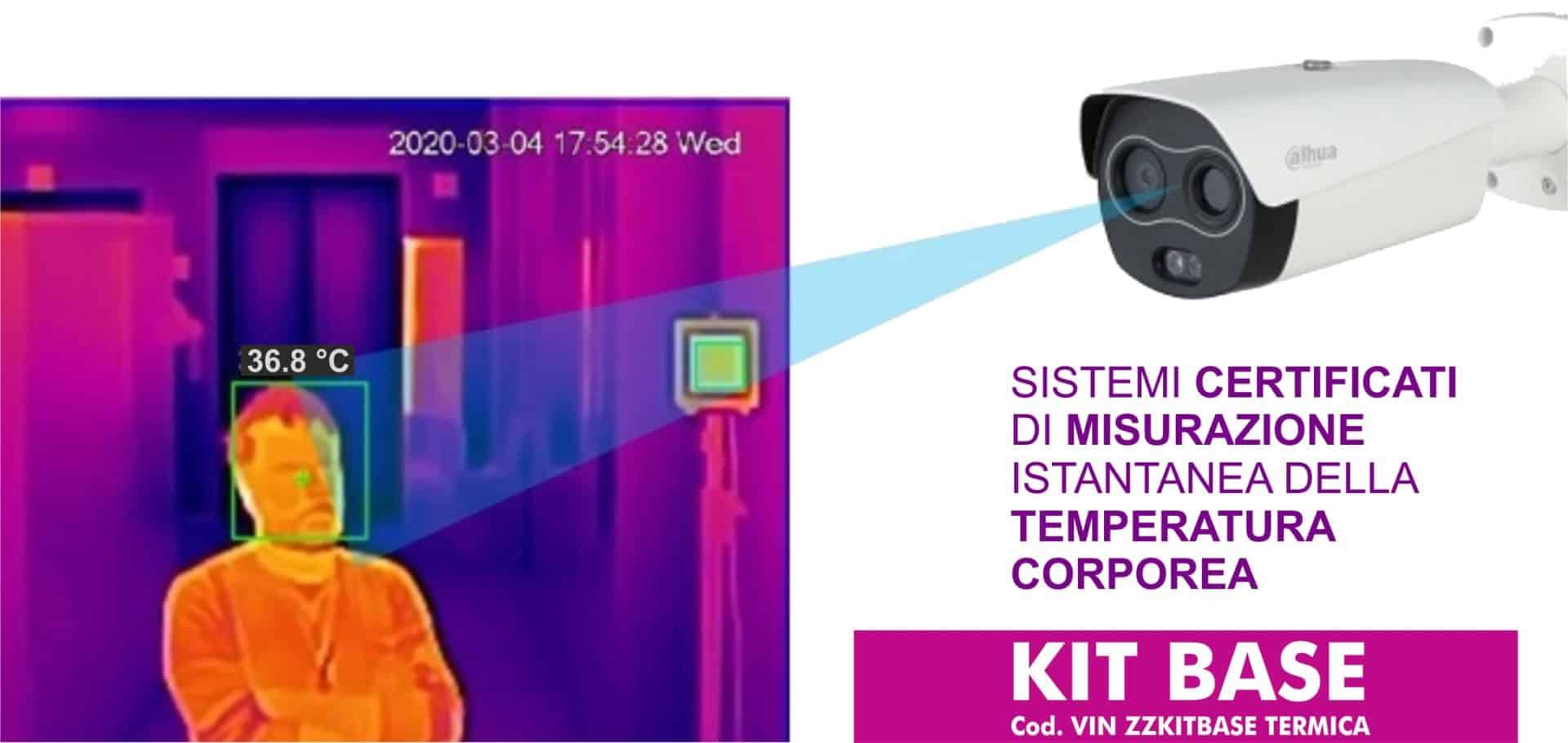 Covid-19 dispositivi di protezione | Elettrogruppo ZeroUno | Torino | misurazione istantanea temperatura