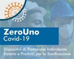 Covid-19 dispositivi di protezione | Elettrogruppo ZeroUno | Torino | cover della brochure