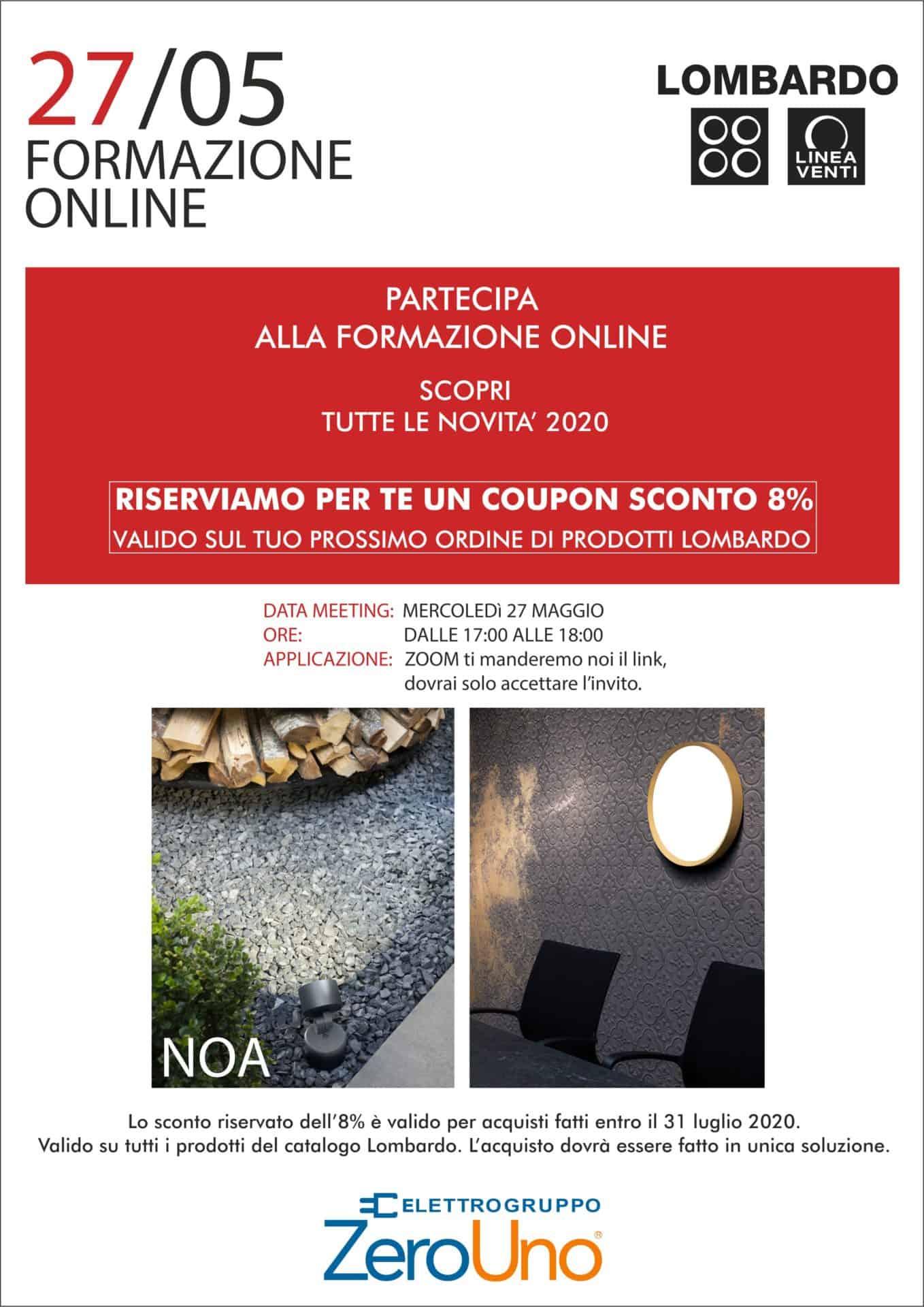 workshop OnLine con lombardo | Elettrogruppo ZeroUno | Beinasco | TO | promozione formazione