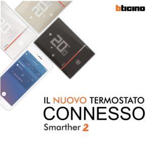TERMOSTATO DIGITALE BTICINO SMARTHER 2