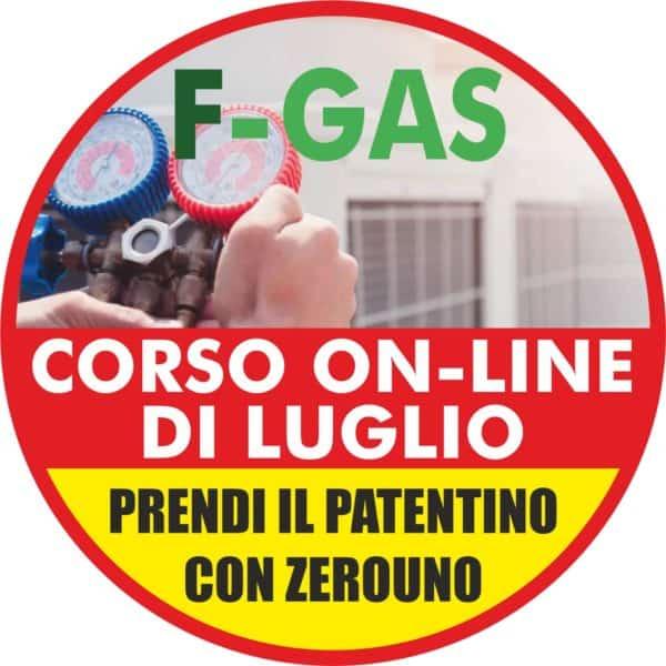F-Gas a Luglio prendi il Patentino   Elettrogruppo ZeroUno   TORINO   corso f gas di luglio 2020
