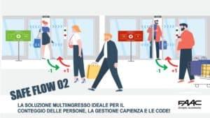 SISTEMI DI CONTROLLLO E GESTIONE CODE FAAC SAFE FLOW 02