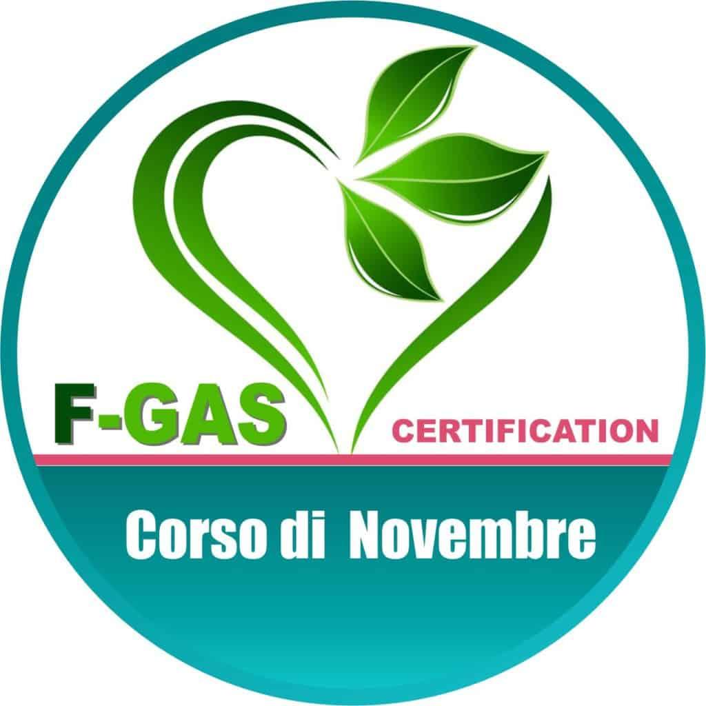 Il patentino F-GAS di Novembre | Elettrogruppo ZeroUno | Beinasco | TO | LOGO CORSO F GAS NOVEMBRE