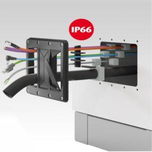 Passacavi Conta-Clip in ZeroUno    Elettrogruppo ZeroUno   Beinasco   TO   KDS-FP