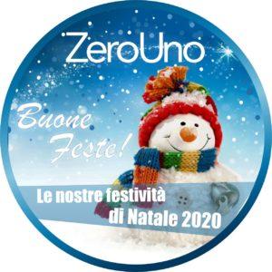 Le nostre festività di Natale | Elettrogruppo ZeroUno | Beinasco | Torino TO | pupazzo di neve delle buone feste