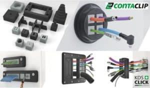 Passacavi Conta-Clip in ZeroUno    Elettrogruppo ZeroUno   Beinasco   TO   KDS CLICK CONTACLIP COVER LOGO