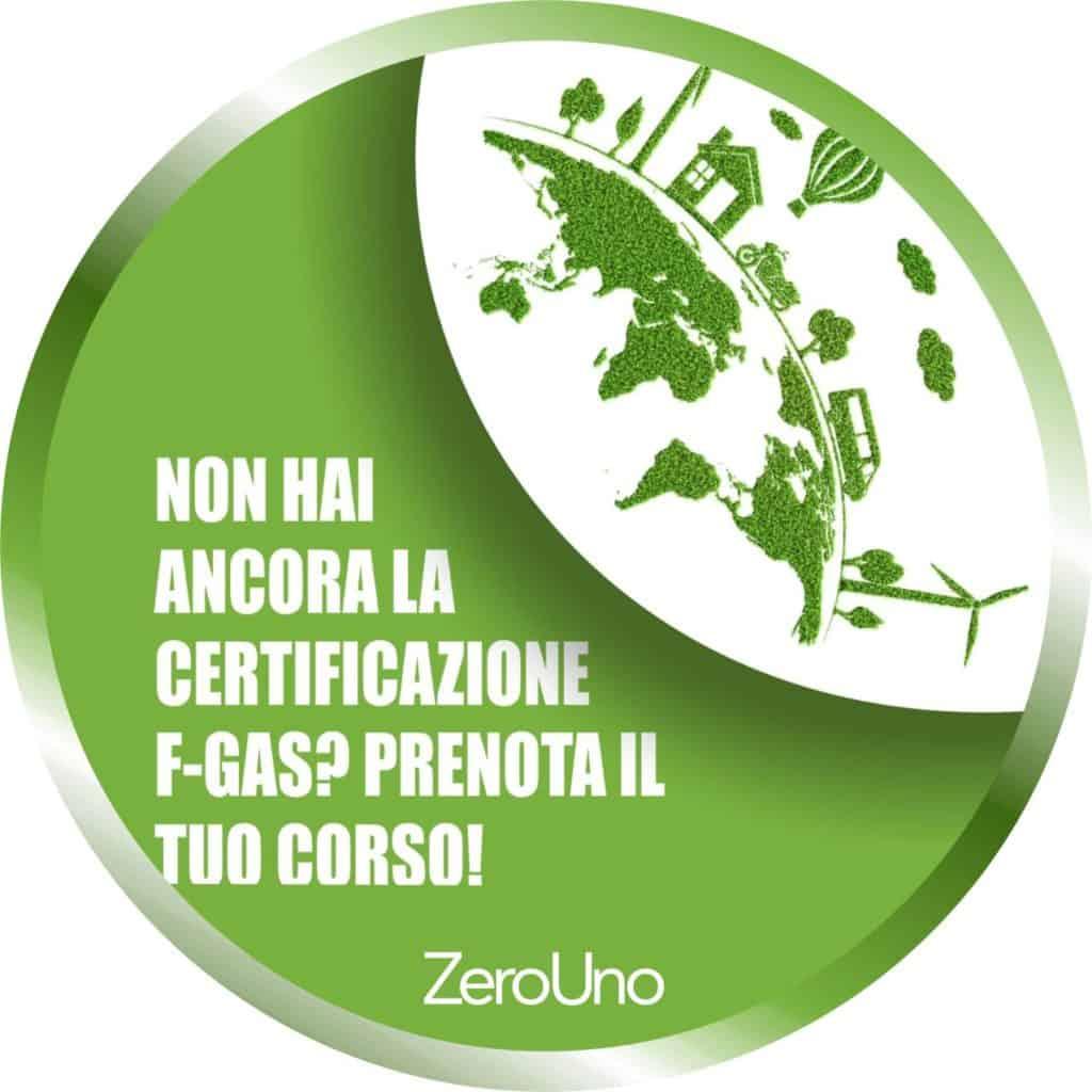 Prenota il corso f-gas! | Elettrogruppo ZeroUno | Beinasco | Torino | disco news prenota corso f-gas