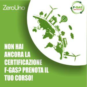 Prenota il corso f-gas! | Elettrogruppo ZeroUno | Beinasco | Torino | immagine principale
