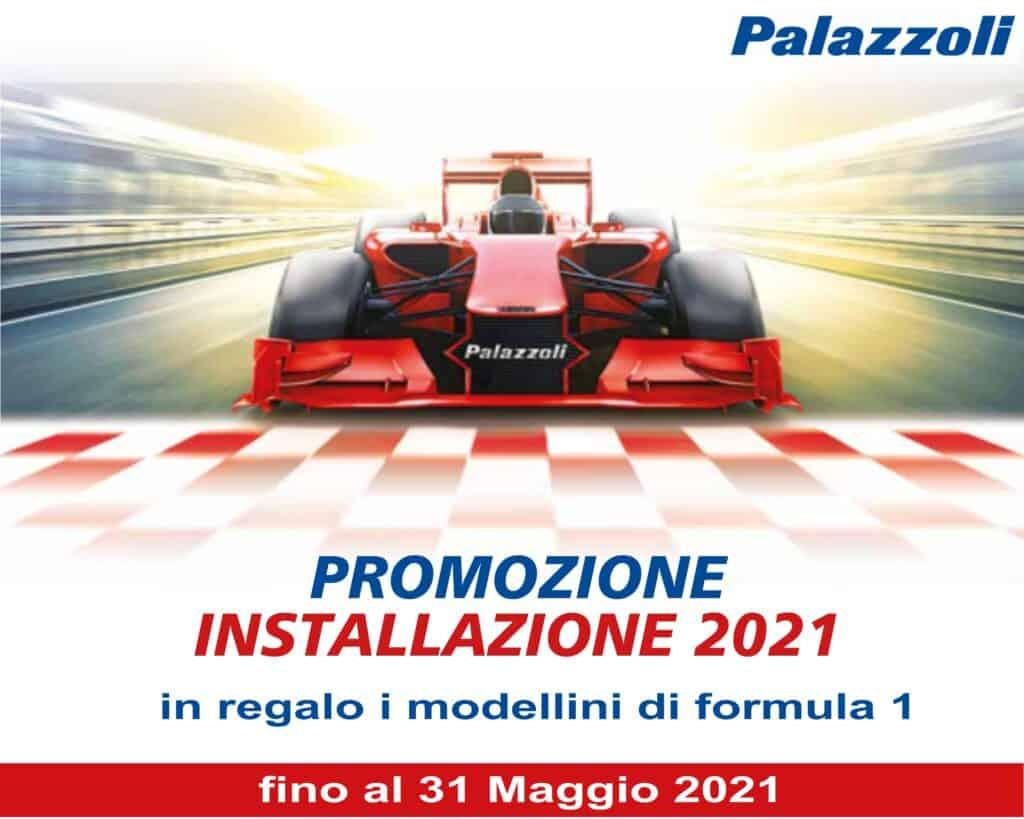 Le Nostre Promozioni   Elettrogruppo ZeroUno   Beinasco   Torino   TO   cover promo installazione 2021 Palazzoli regalo modellini Formula 1