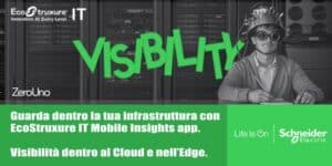 EcoStruxure Data Center in Cloud   Elettrogruppo ZeroUno   Beinasco   TO   immagine visibilità dentro infrastruttura app ecostruxure
