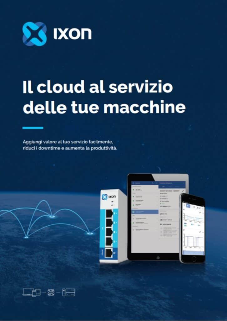 News Automazione   Elettrogruppo ZeroUno   Beinasco   Torino   TO   IXON IL CLOUD AL SERVIZIO DELLE MACCHINE