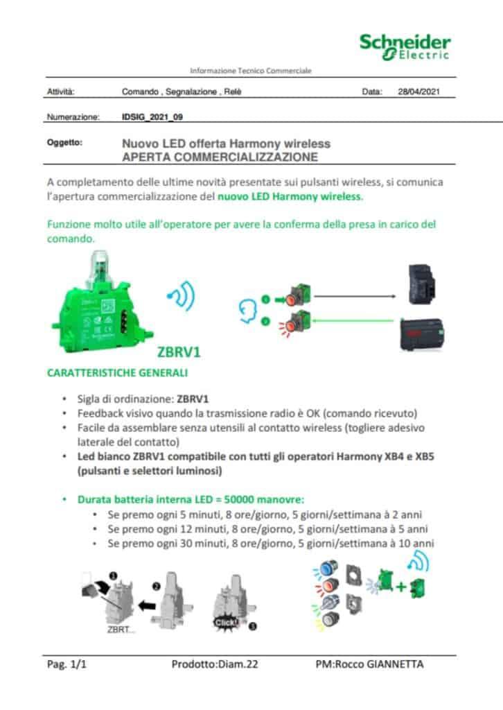 News Automazione   Elettrogruppo ZeroUno   Beinasco   Torino   TO   LED WIRELESS SCHNEIDER ELECTRIC