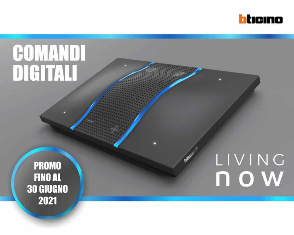 Le Nostre Promozioni   Elettrogruppo ZeroUno   Beinasco   Torino   TO   LIVING NOW BTICINO COMANDI DIGITALI CONTROLLER