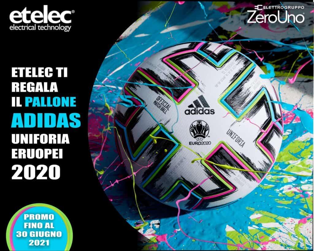 Le Nostre Promozioni   Elettrogruppo ZeroUno   Beinasco   Torino   TO   etelec promozione omaggio pallone adidas europei 2020 uniforia