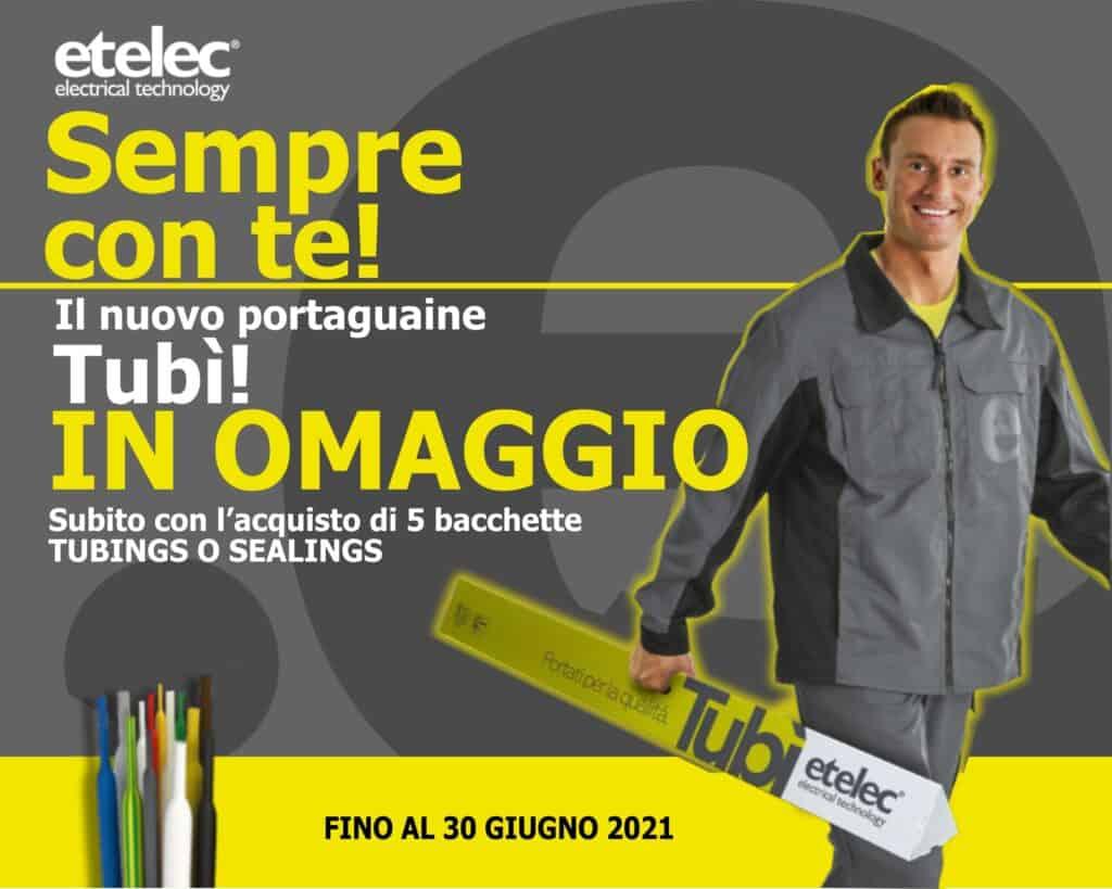 Le Nostre Promozioni   Elettrogruppo ZeroUno   Beinasco   Torino   TO   promo etelec omaggio copri guiaine tubì