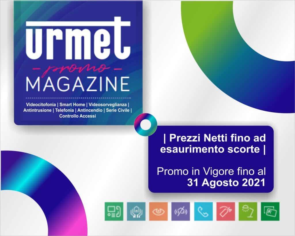 Le Nostre Promozioni   Elettrogruppo ZeroUno   Beinasco   Torino   TO   URMET Magazine Agosto 2021 materiale elettrico promozione