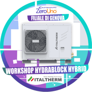 Workshop Italtherm 30 Luglio Genova | Elettrogruppo ZeroUno| To || IMMAGINE PRINCIPALE WORKSHOP GENOVA