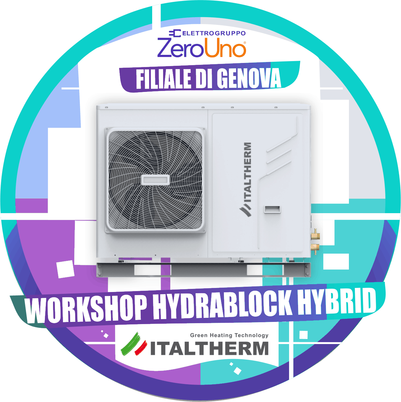 Workshop Italtherm 30 Luglio Genova   Elettrogruppo ZeroUno  To    IMMAGINE PRINCIPALE WORKSHOP GENOVA