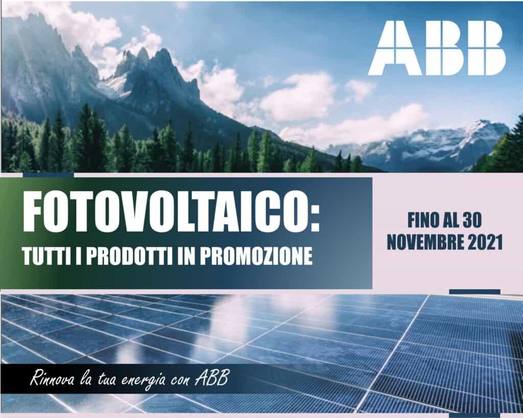 Le Nostre Promozioni   Elettrogruppo ZeroUno   Beinasco   Torino   TO   ABB fotovoltaico prodotti promozione