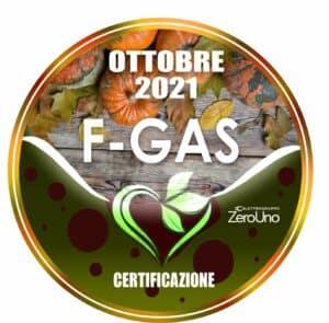 Il patentino F-GAS Ottobre | Elettrogruppo ZeroUno | Beinasco | TO fgas news cerchio ottobre
